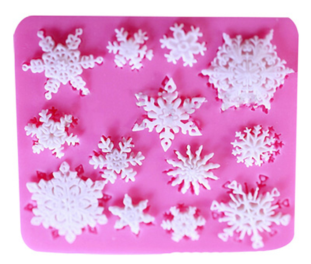 Mini Snowflake Mold