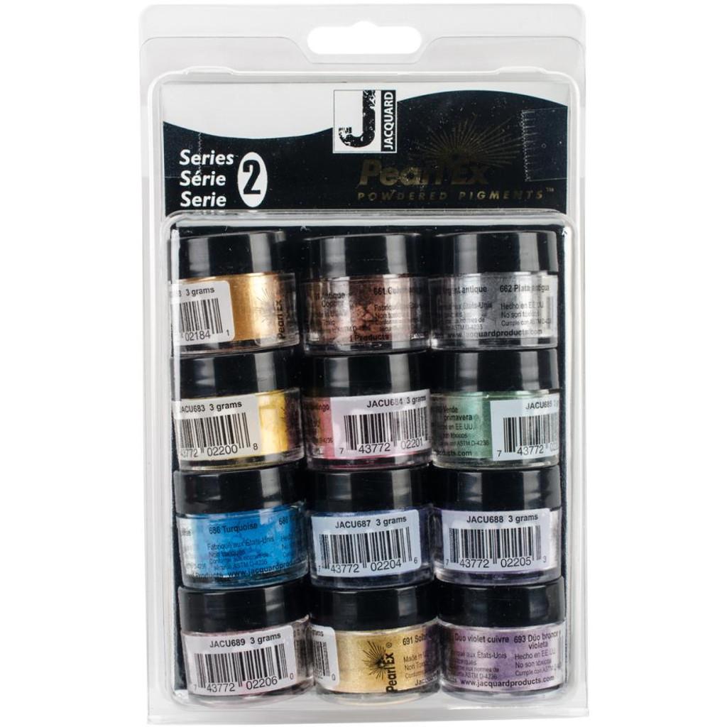 Jacquard Series 2 Pearl Ex Powdered Pigments 3g 12/Pkg