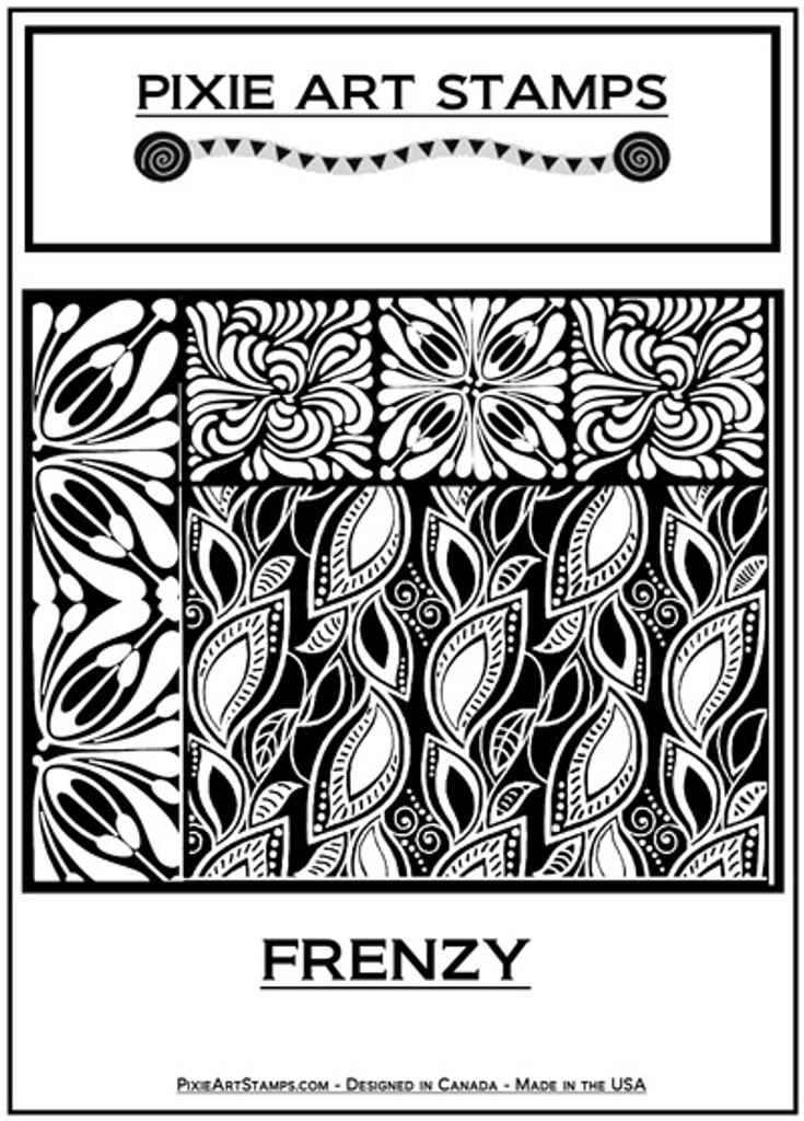 Pixie Art Stamp by Mike Breil - Frenzy