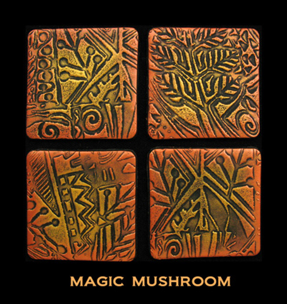 Pixie Art Stamp by Mike Breil - Magic Mushroom