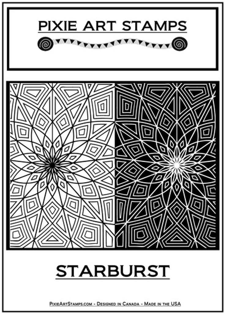Pixie Art Stamp by Mike Breil - Starburst