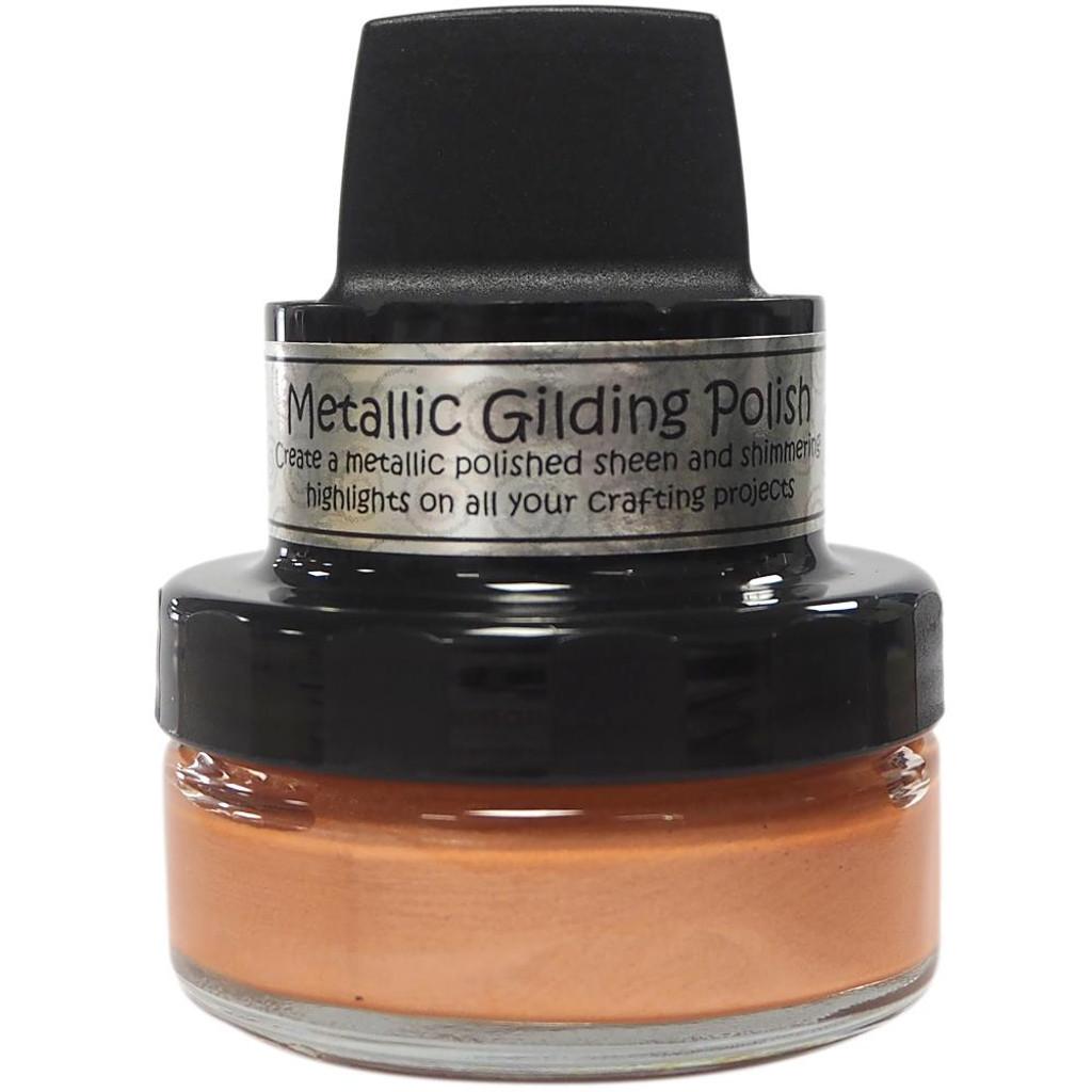 Cosmic Shimmer Metallic Gilding Polish - Apricot