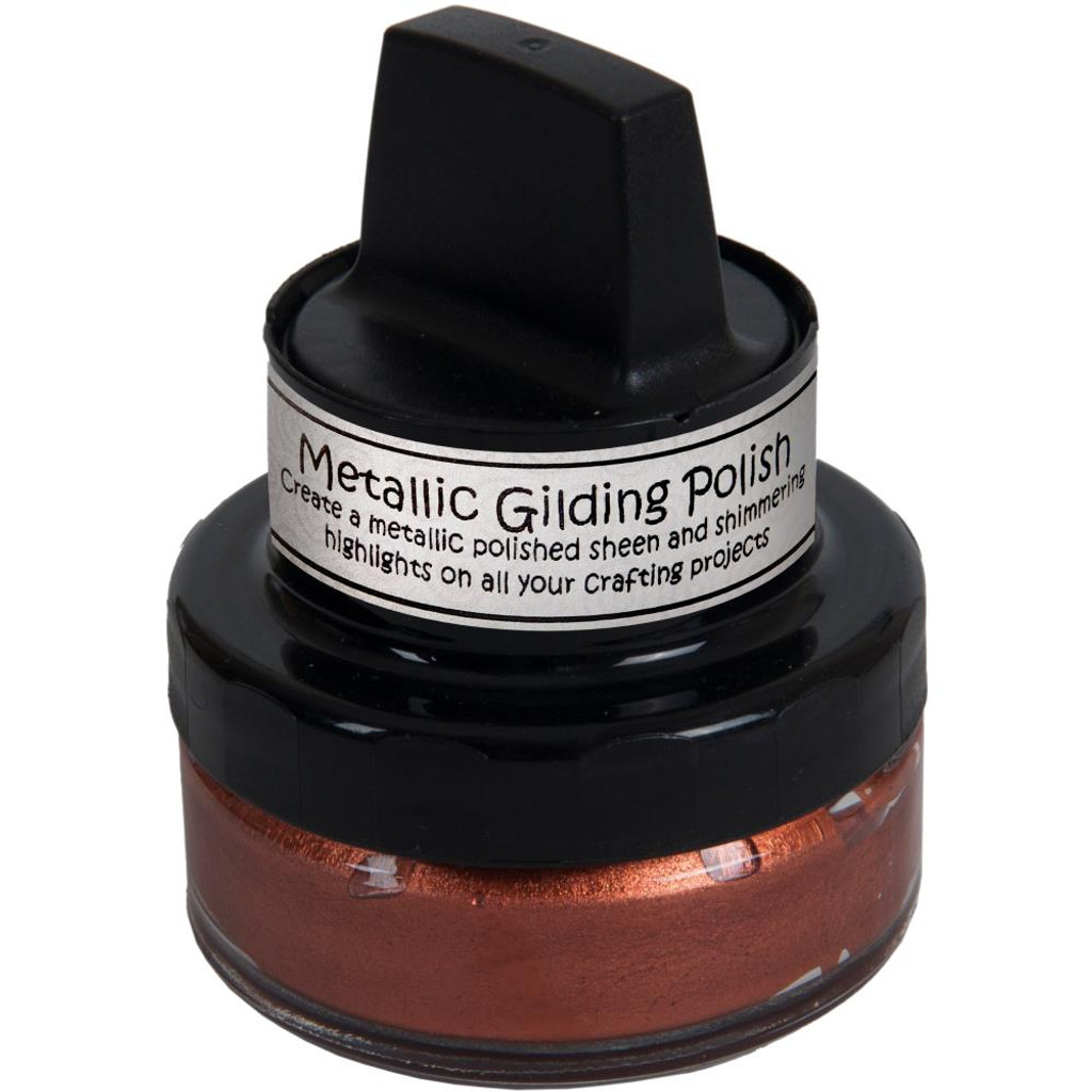 Cosmic Shimmer Metallic Gilding Polish - Red Bronze