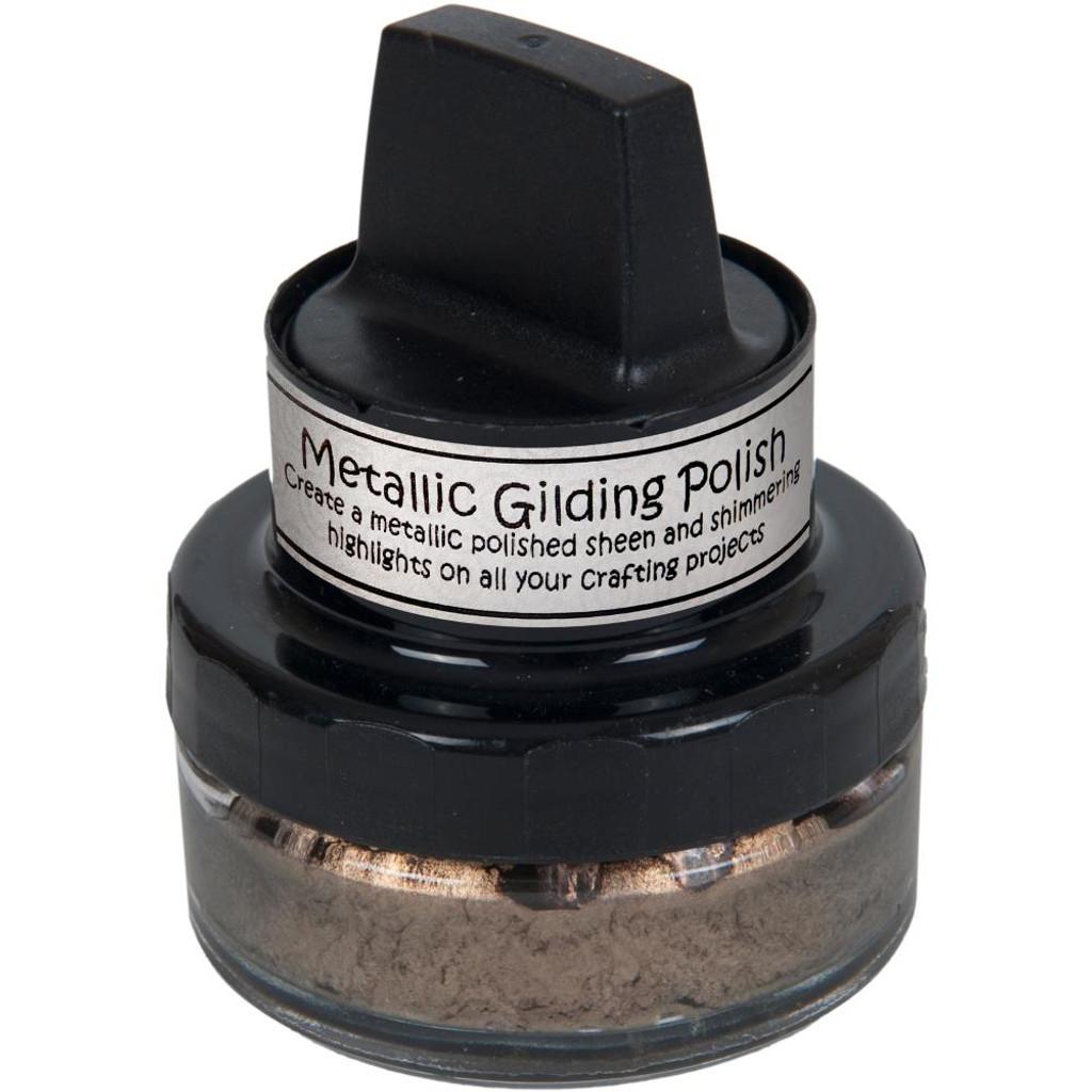 Cosmic Shimmer Metallic Gilding Polish - Chocolate Bronze