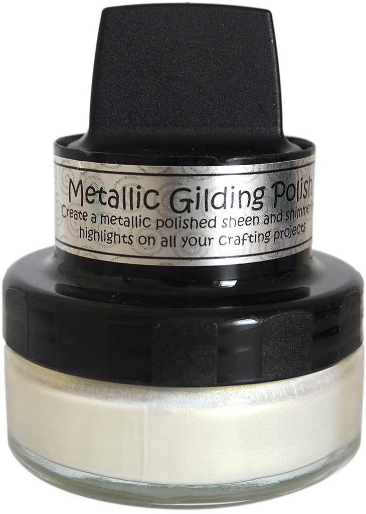 Cosmic Shimmer Metallic Gilding Polish - Enchanted Gold