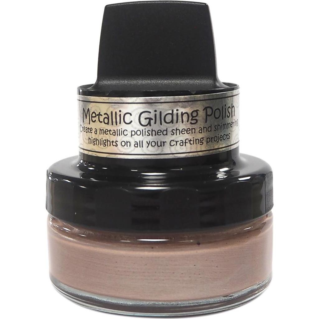 Cosmic Shimmer Metallic Gilding Polish - Silver Hessian