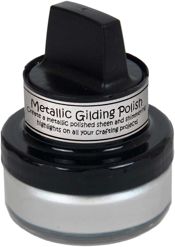 Cosmic Shimmer Metallic Gilding Polish - Pearl