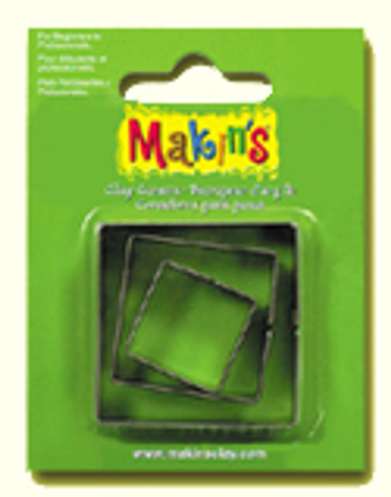 Makin's Clay 3 Piece Cutter Set Square