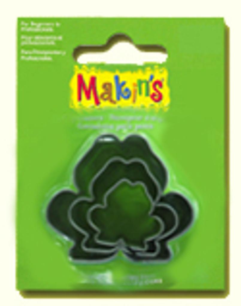 Makin's Clay 3 Piece Cutter Set Frog