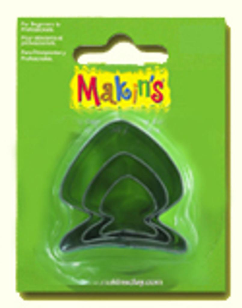 Makin's Clay 3 Piece Cutter Set Fish