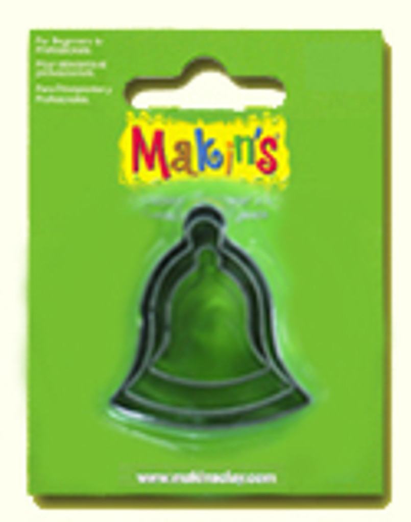 Makin's Clay 3 Piece Cutter Set Bell
