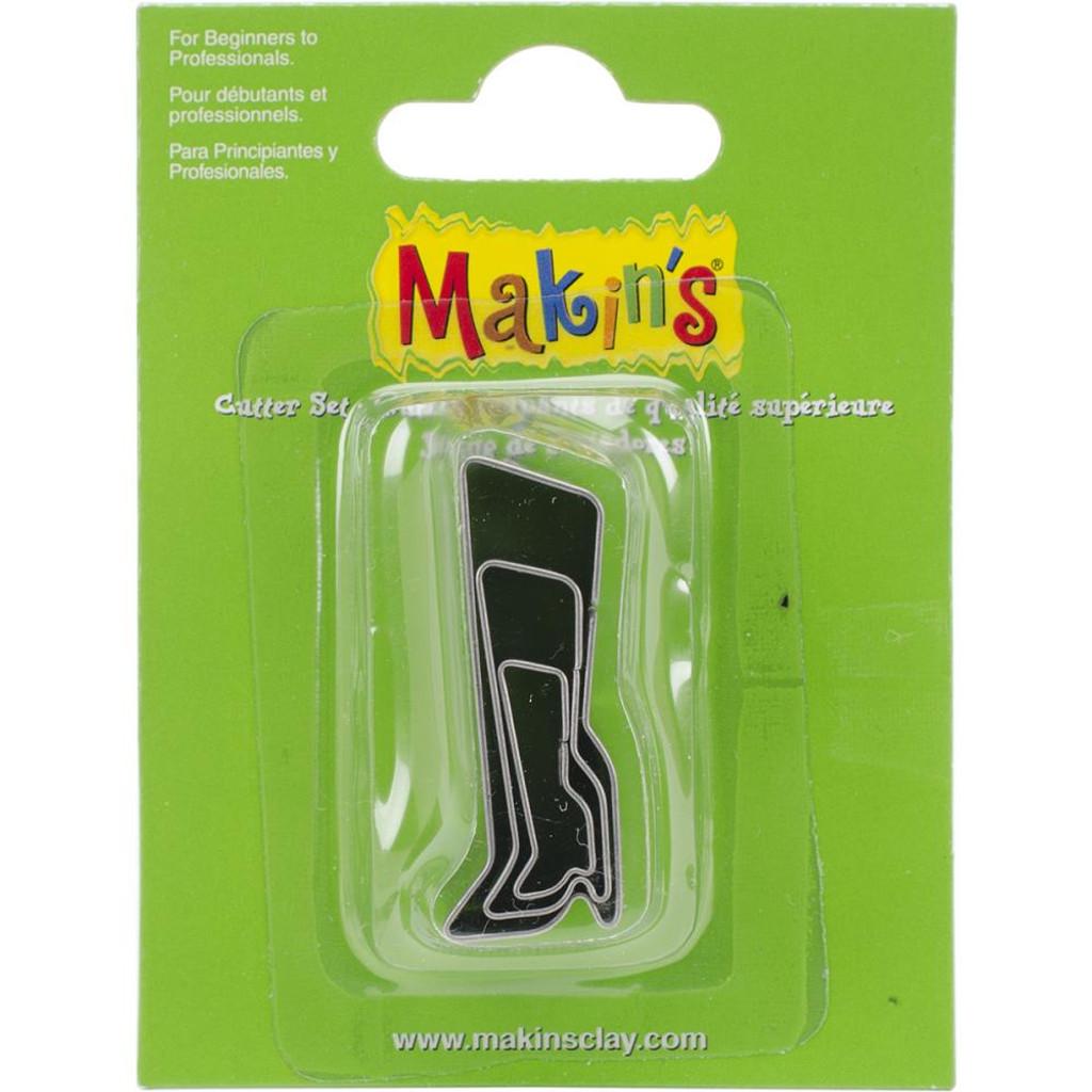 Makin's Clay 3 Piece Cutter Set Boot
