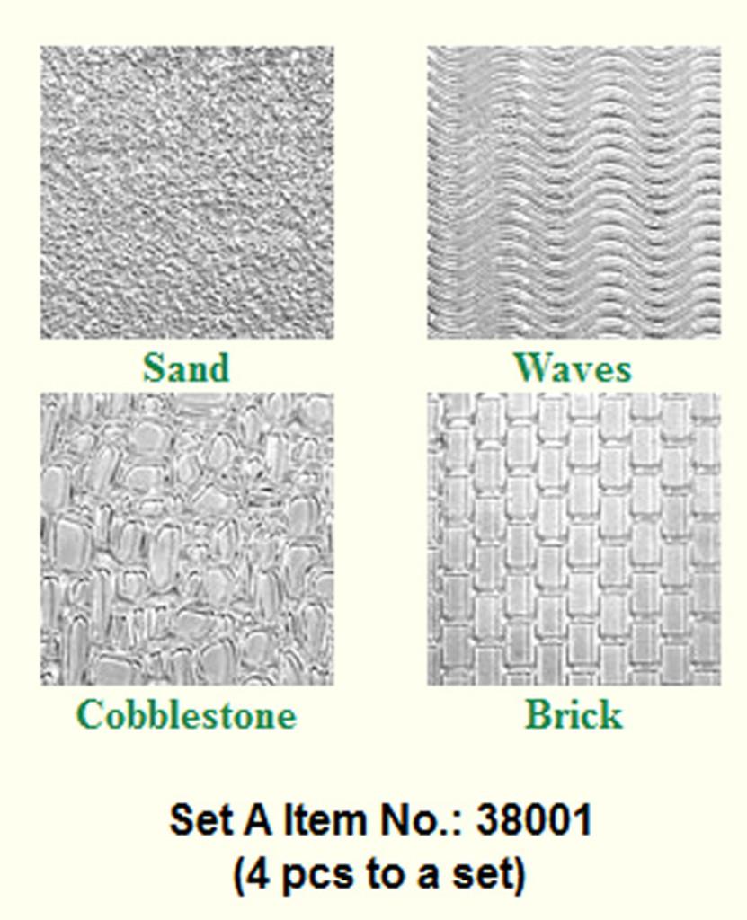 Makins Texture Sheets Set A