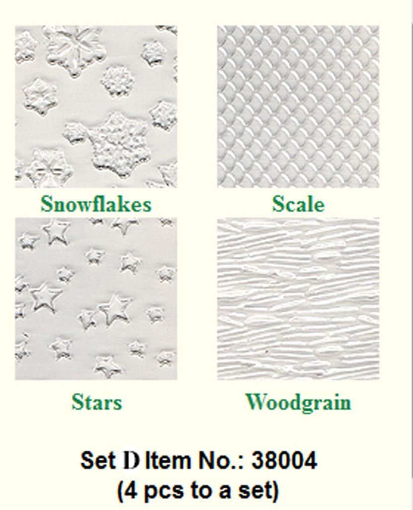 Makins Texture Sheets Set D