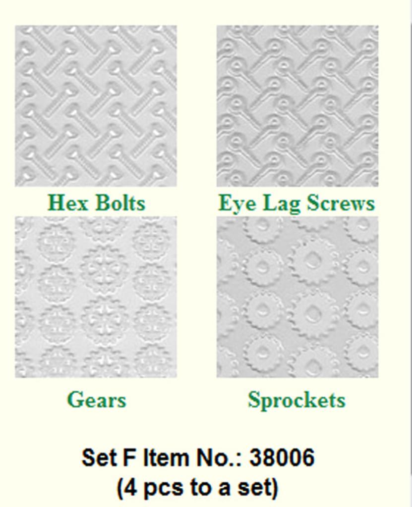Makins Texture Sheets Set F