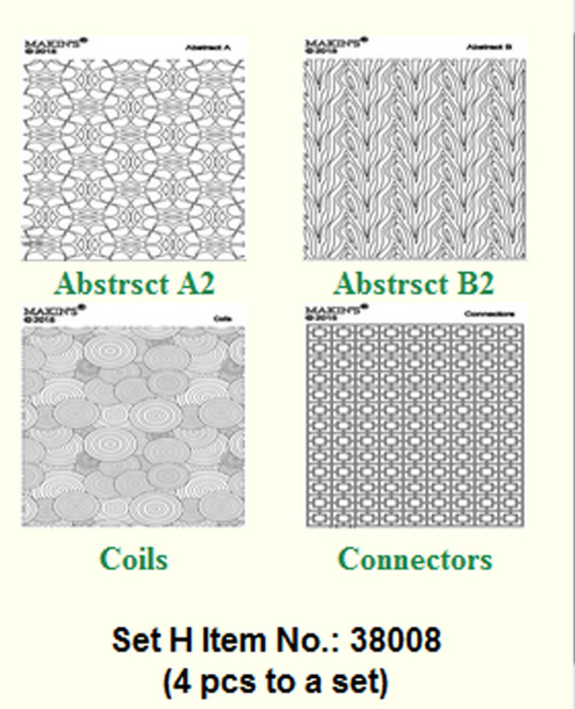 Makins Texture Sheets Set H