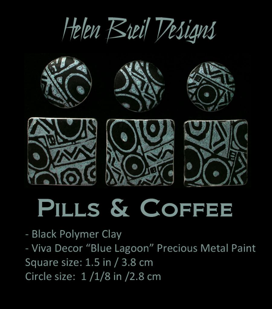 Helen Breil Silk Screens - Pills & Coffee