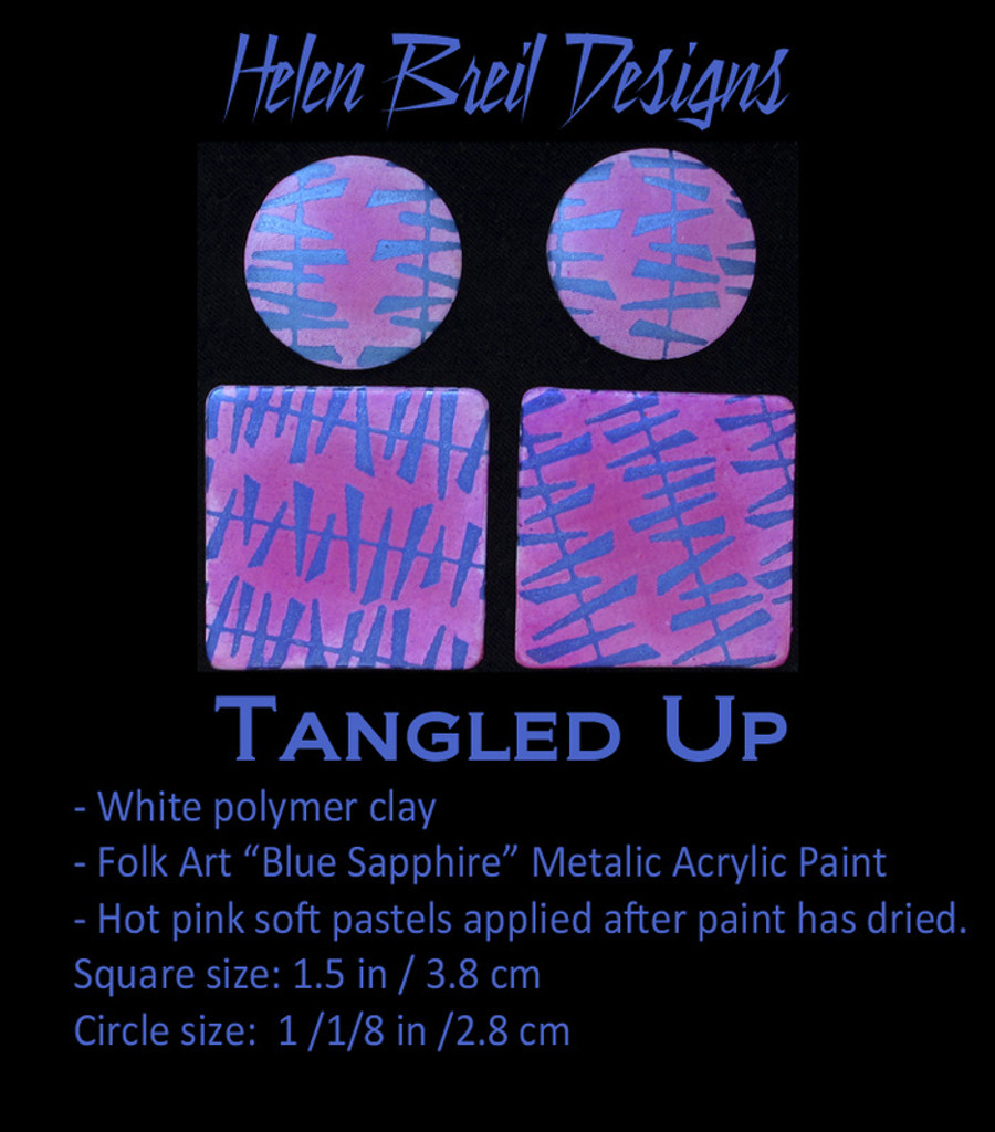 Helen Breil Silk Screens - Tangled Up