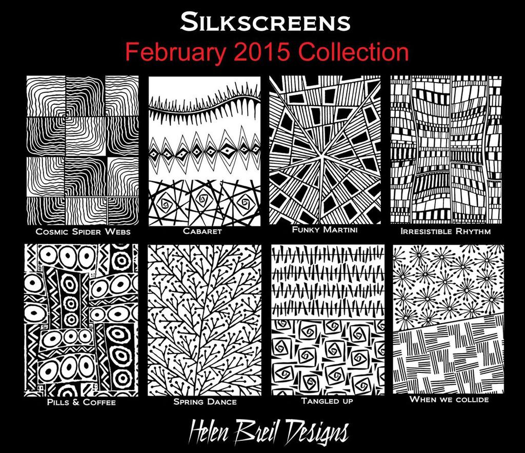 Helen Breil Silk Screens - When We Collide