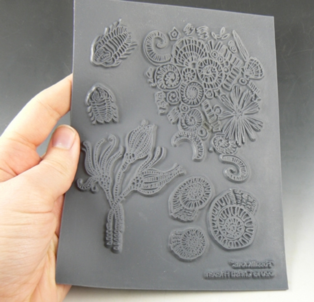 Christi Friesen Texture Stamp Fossilicious