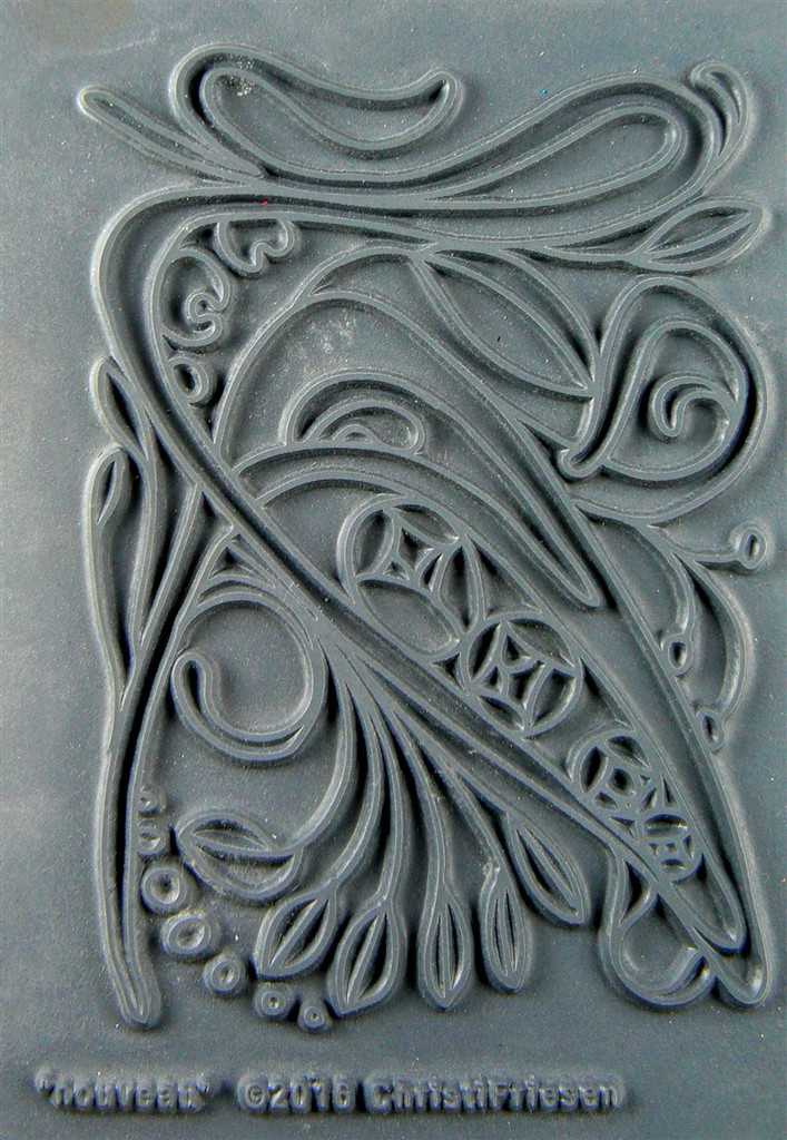 Christi Friesen Texture Stamp Nouveau