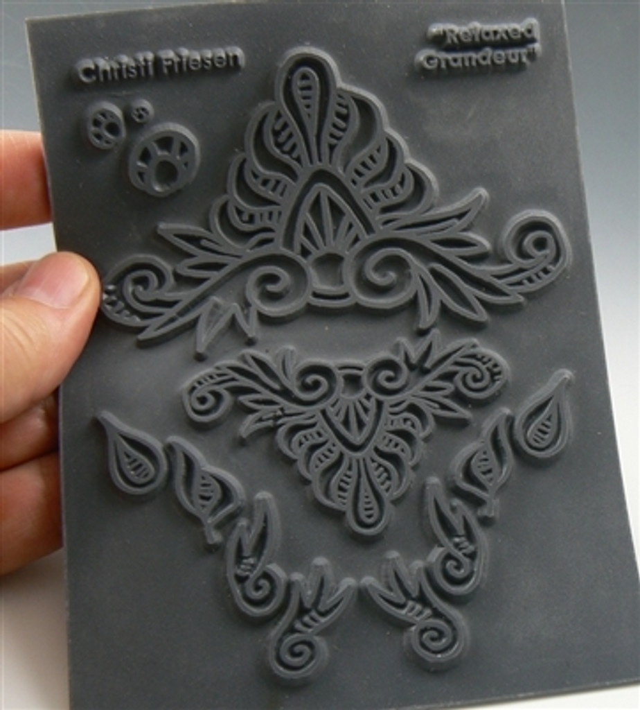 Christi Friesen Texture Stamp Relaxed Grandeur