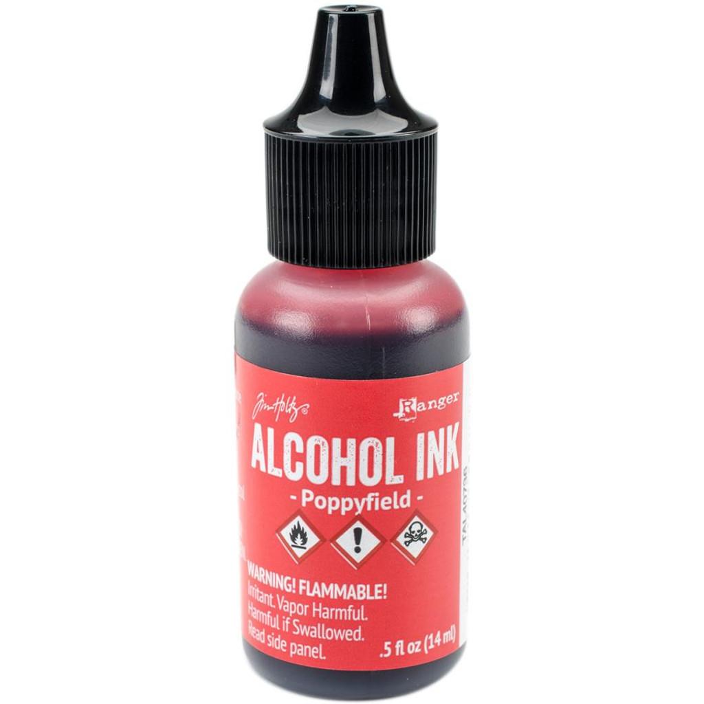 Alcohol Inks Tim Holtz - Poppyfield