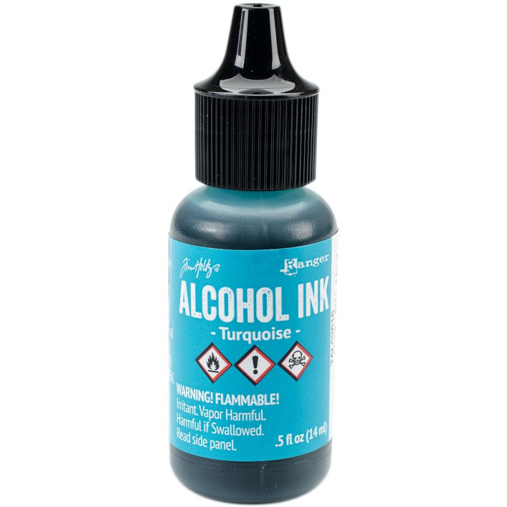 Alcohol Inks Tim Holtz - Turquoise