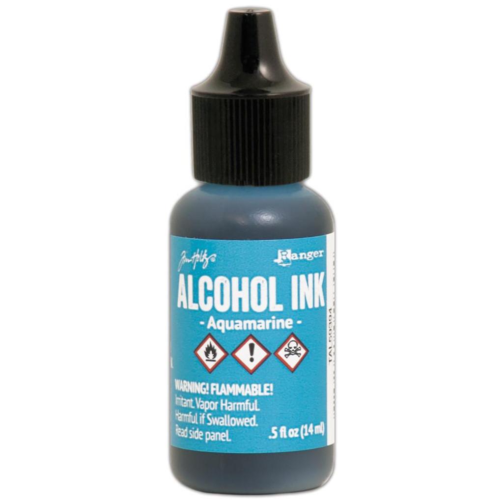 Alcohol Inks Tim Holtz - Aquamarine