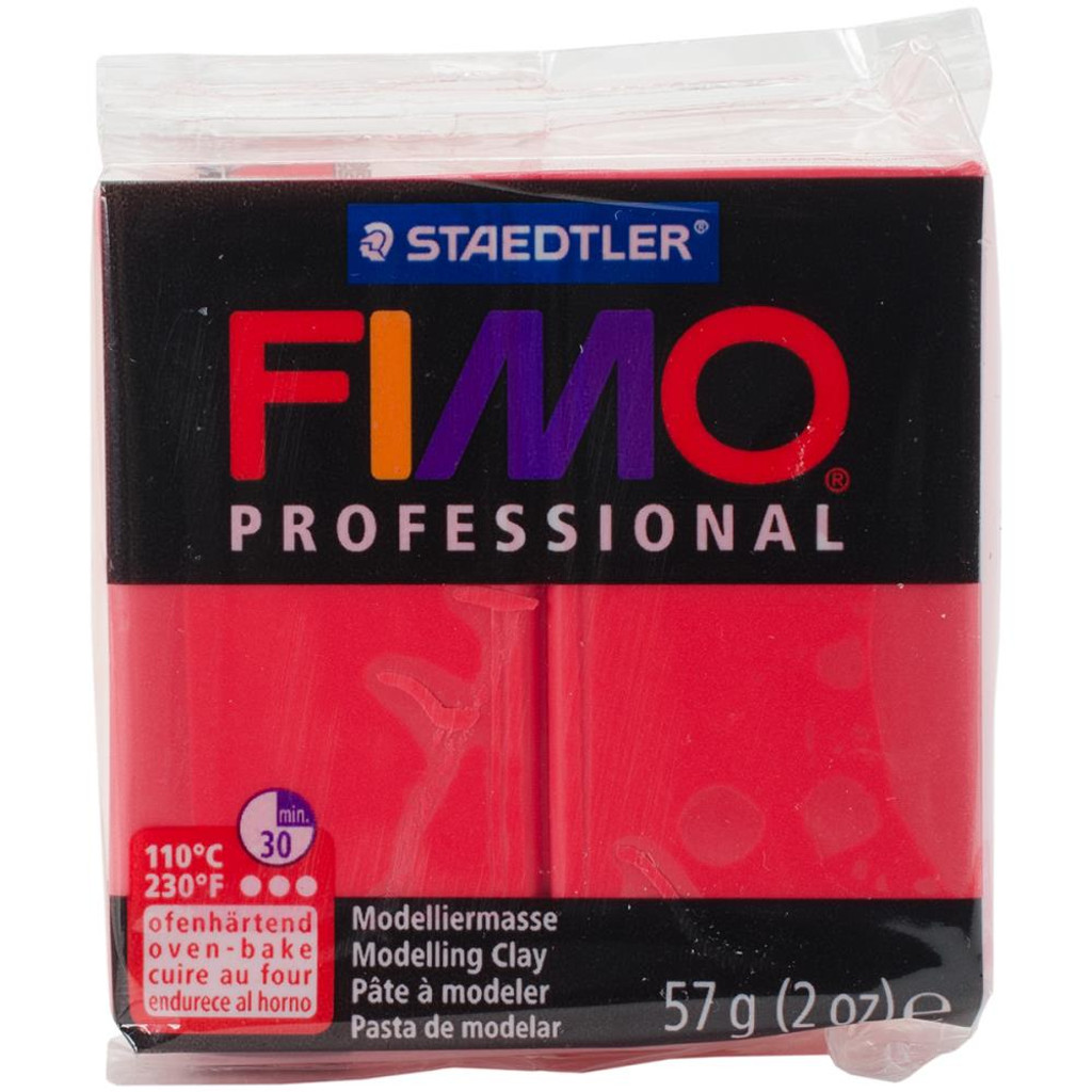 A True Color Fimo Professional Polymer Clay - Red