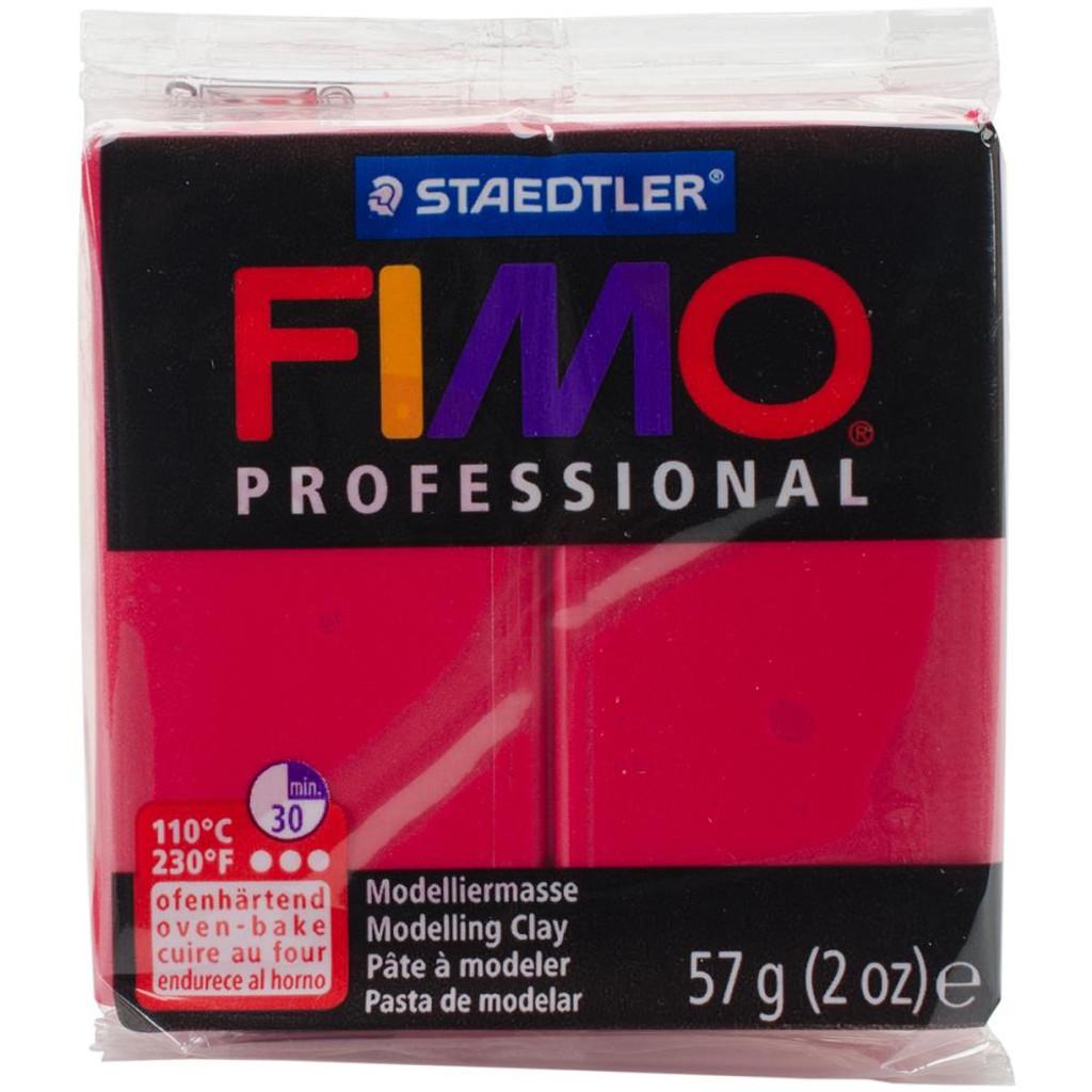 Fimo Professional Polymer Clay - Carmine