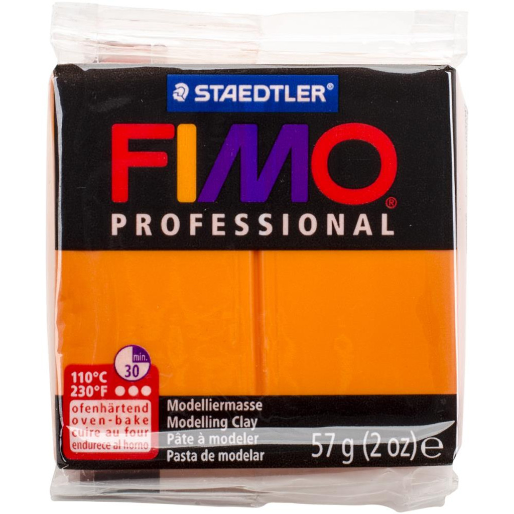 Fimo Professional Polymer Clay - Orange