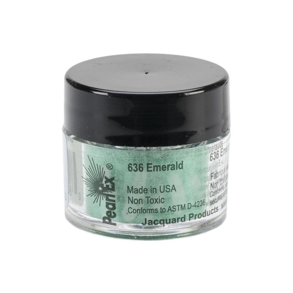 Jacquard Pearl Ex Powdered Pigment 3g - Emerald