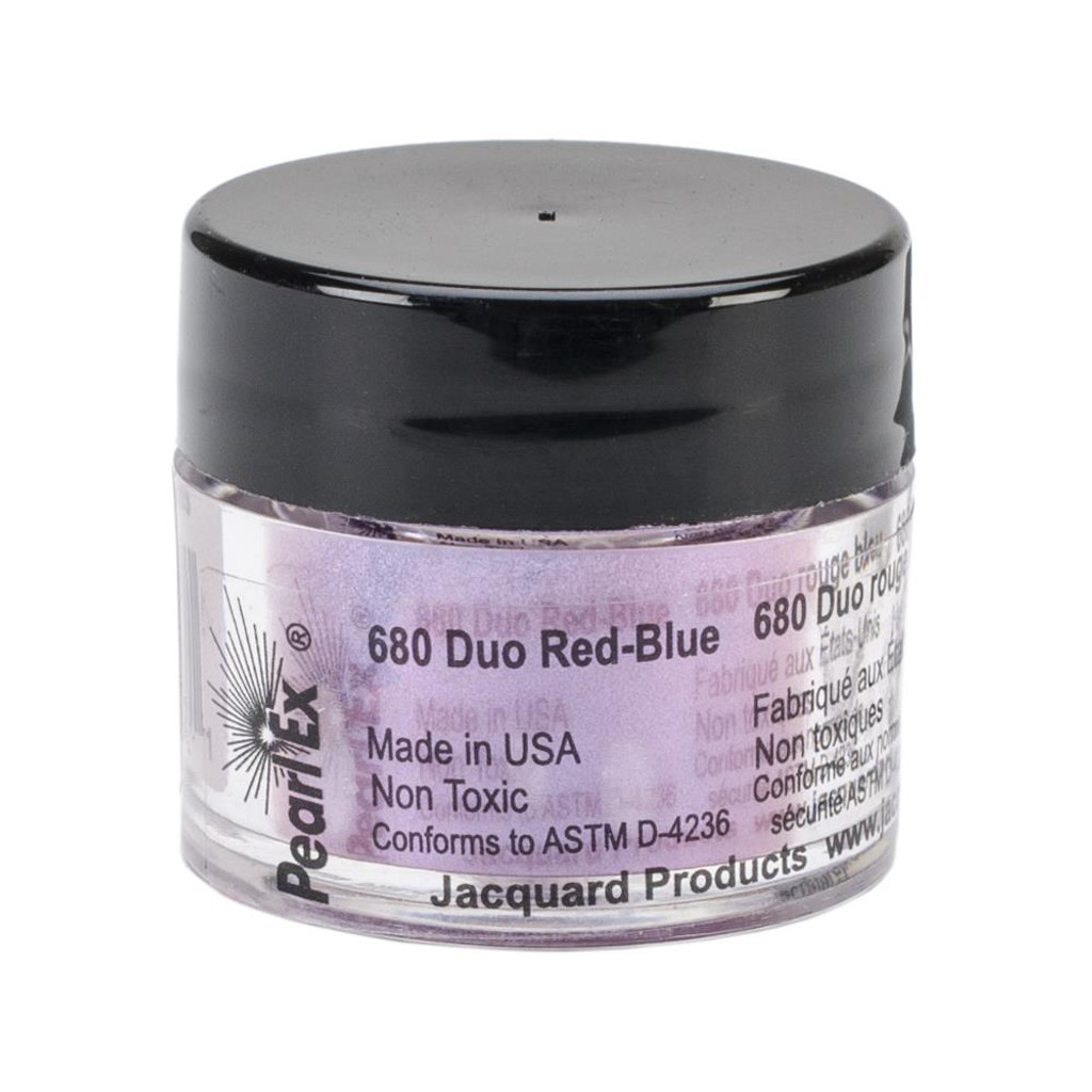 Jacquard Pearl Ex Powdered Pigment 3g - Duo Red-Blue