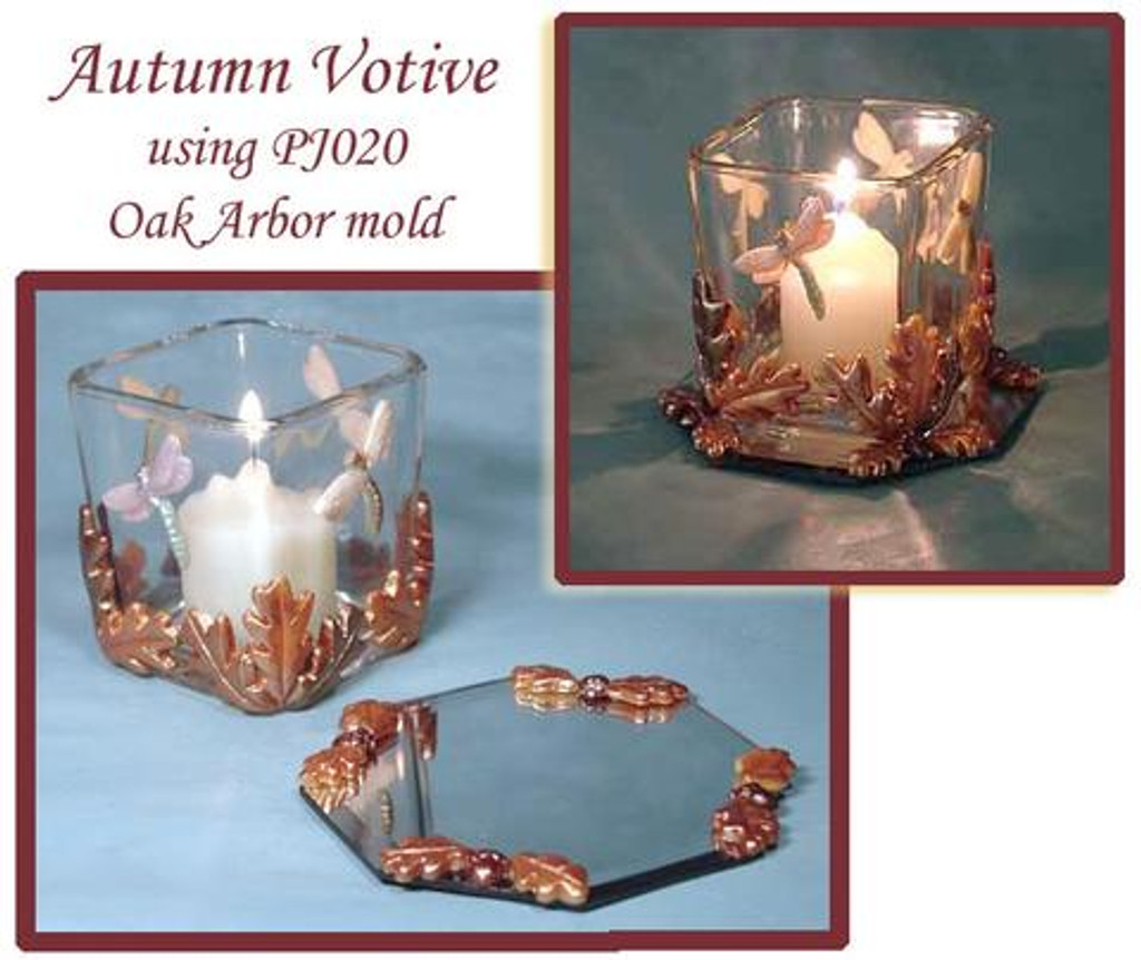 Autumn Reflections Mirrored Votive Free Tutorial