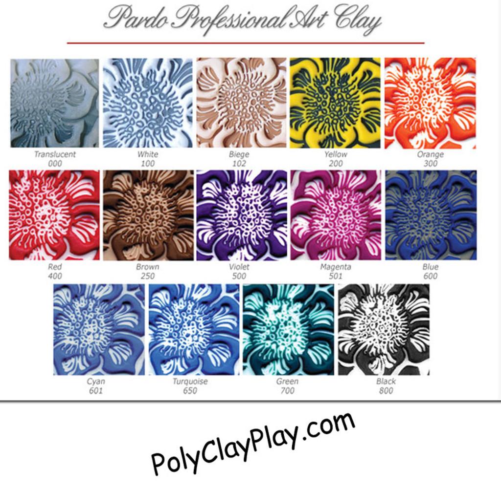 Pardo Professional Art Clay - Red