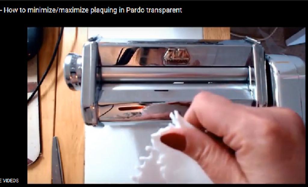 Reduce Plaquing in Pardo Translucent Clay