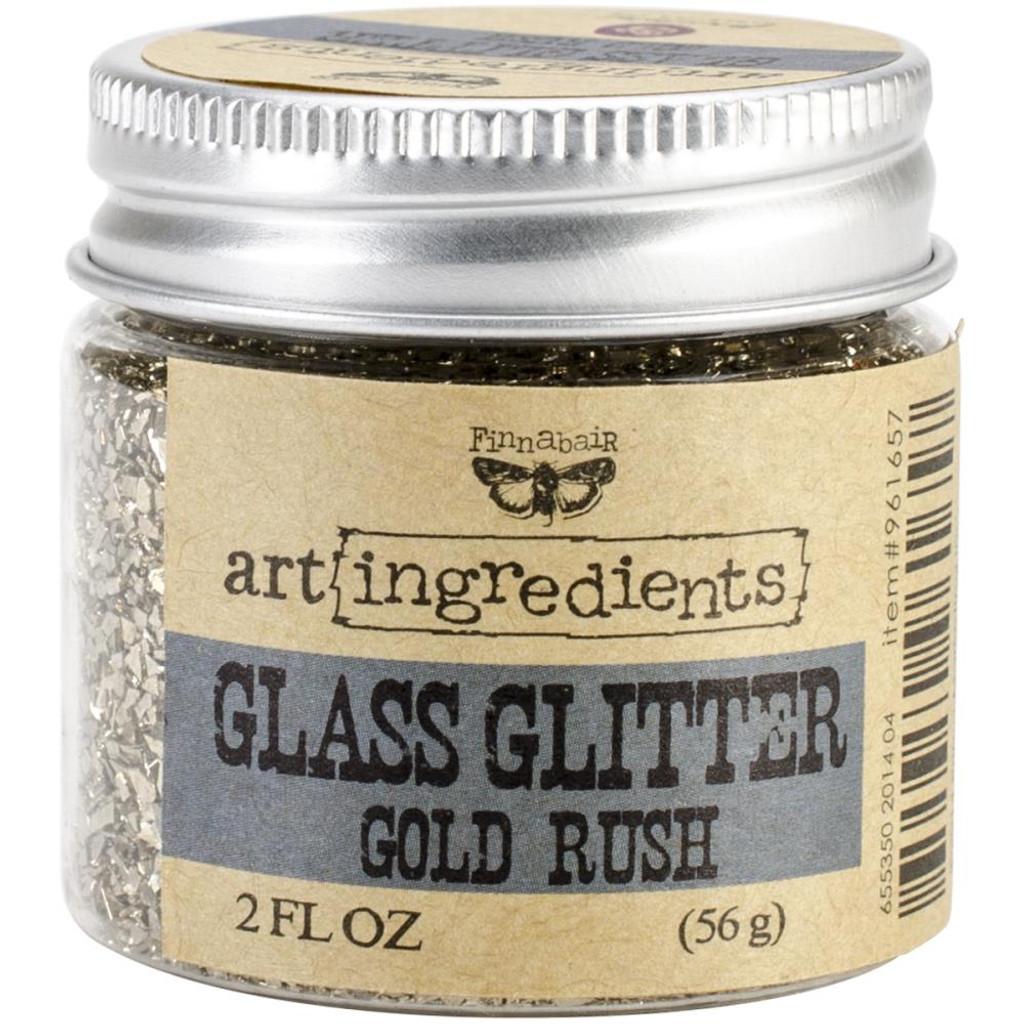 Finnabair Glass Glitter Gold Rush