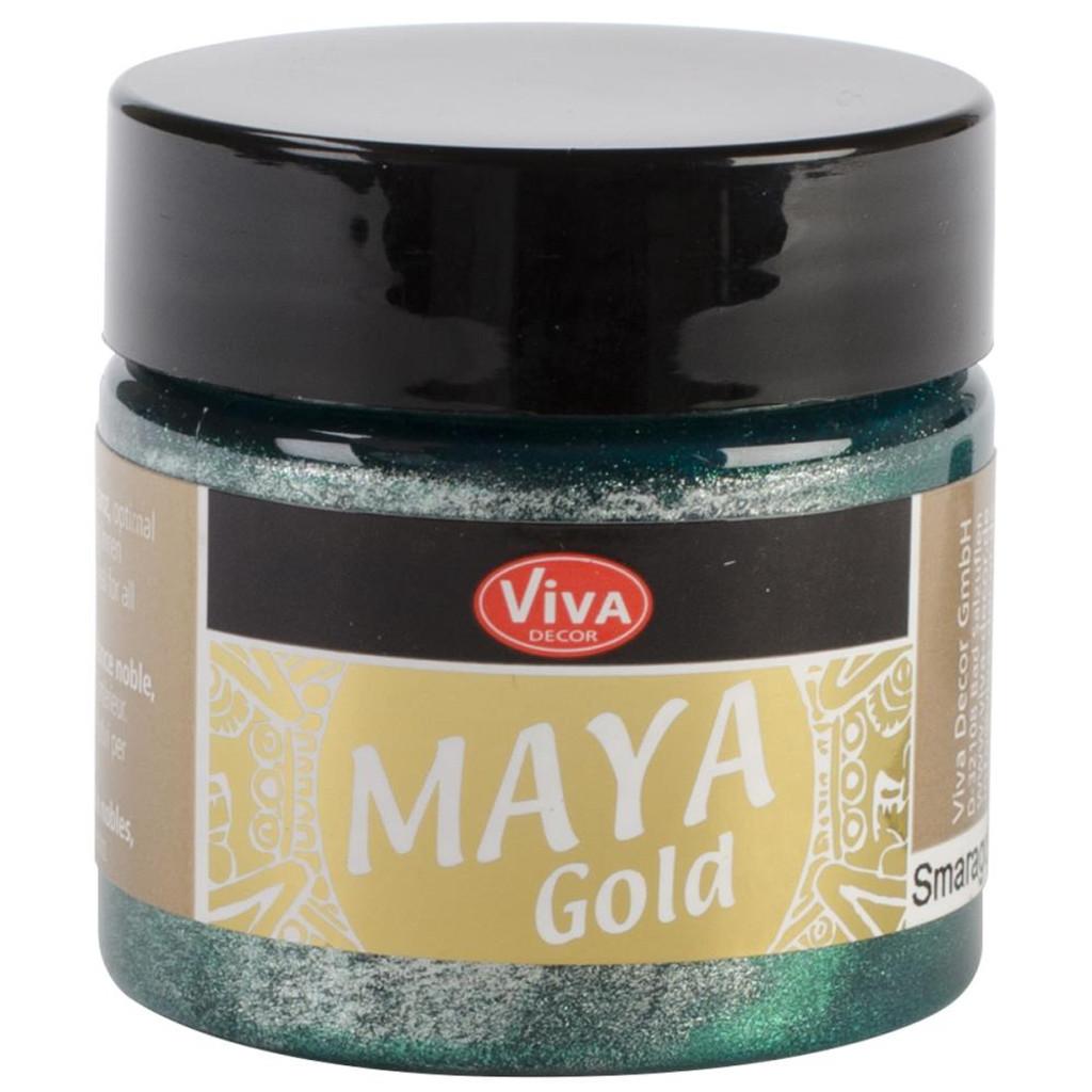 Maya Gold - Emerald