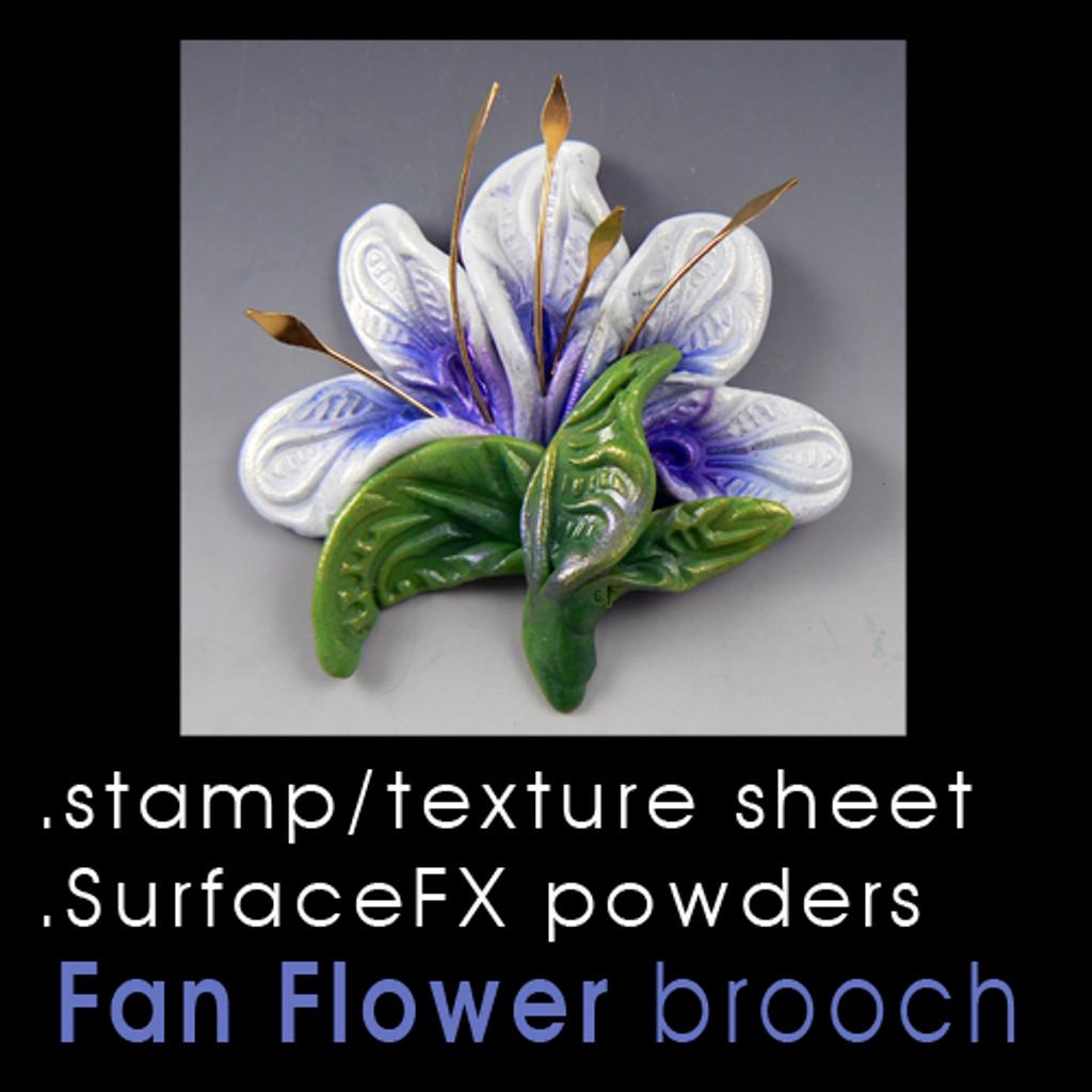 Fan Flower Freebie Tutorial by CF