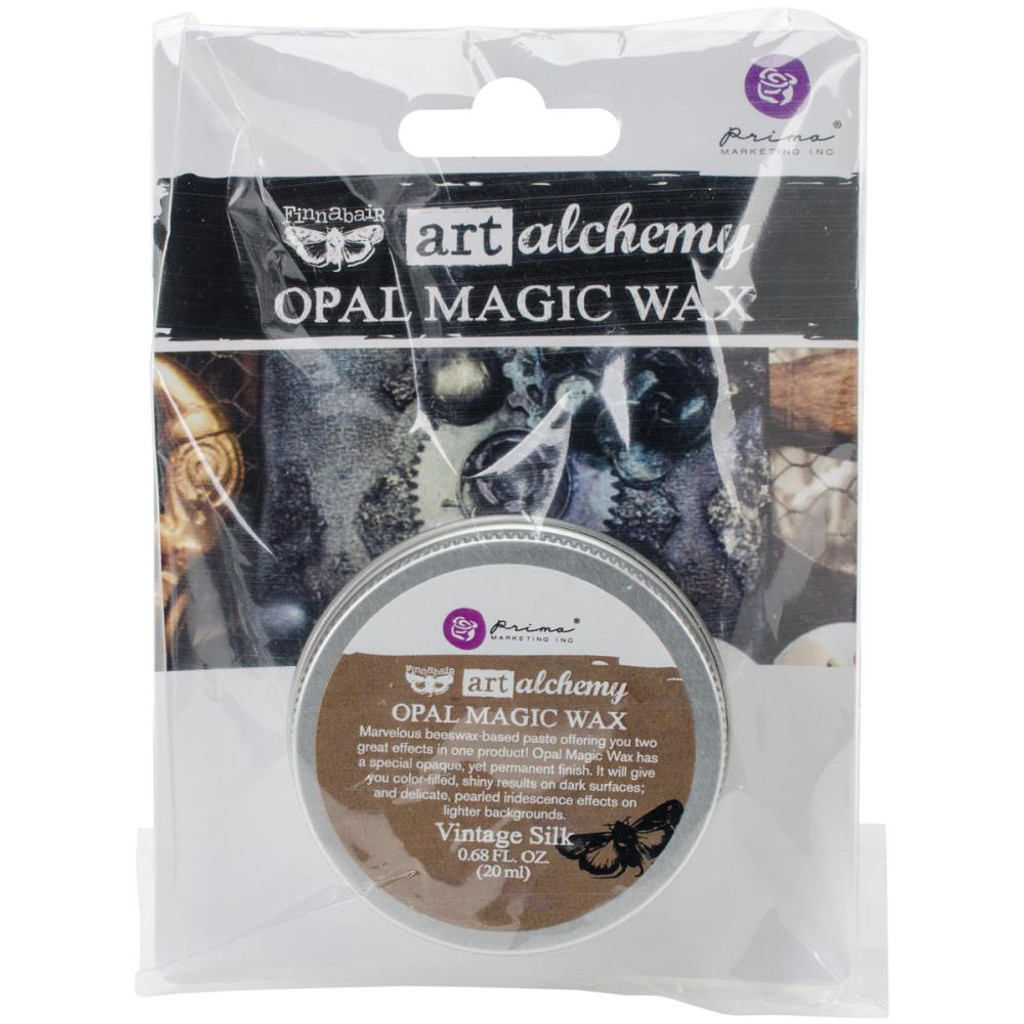 Finnabair Art Alchemy Opal Magic Wax - Vintage Silk