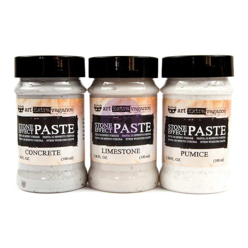 Finnabair Art Extravagance Stone Effect Paste Set
