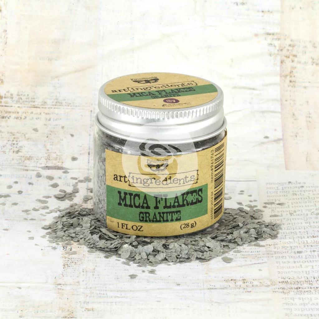 Finnabair Art Ingredients Mica Flakes Granite