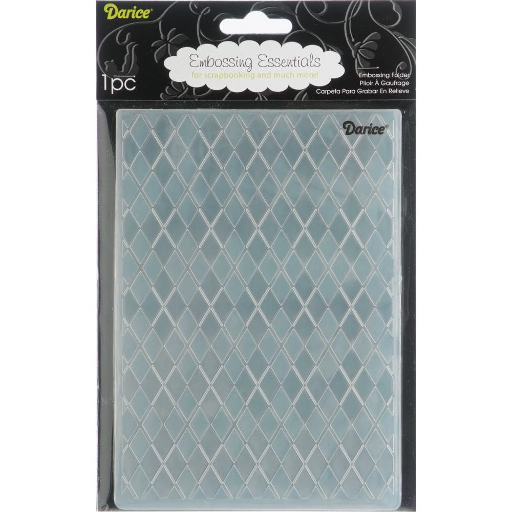Argyle - Background Embossing Folder 5.75""