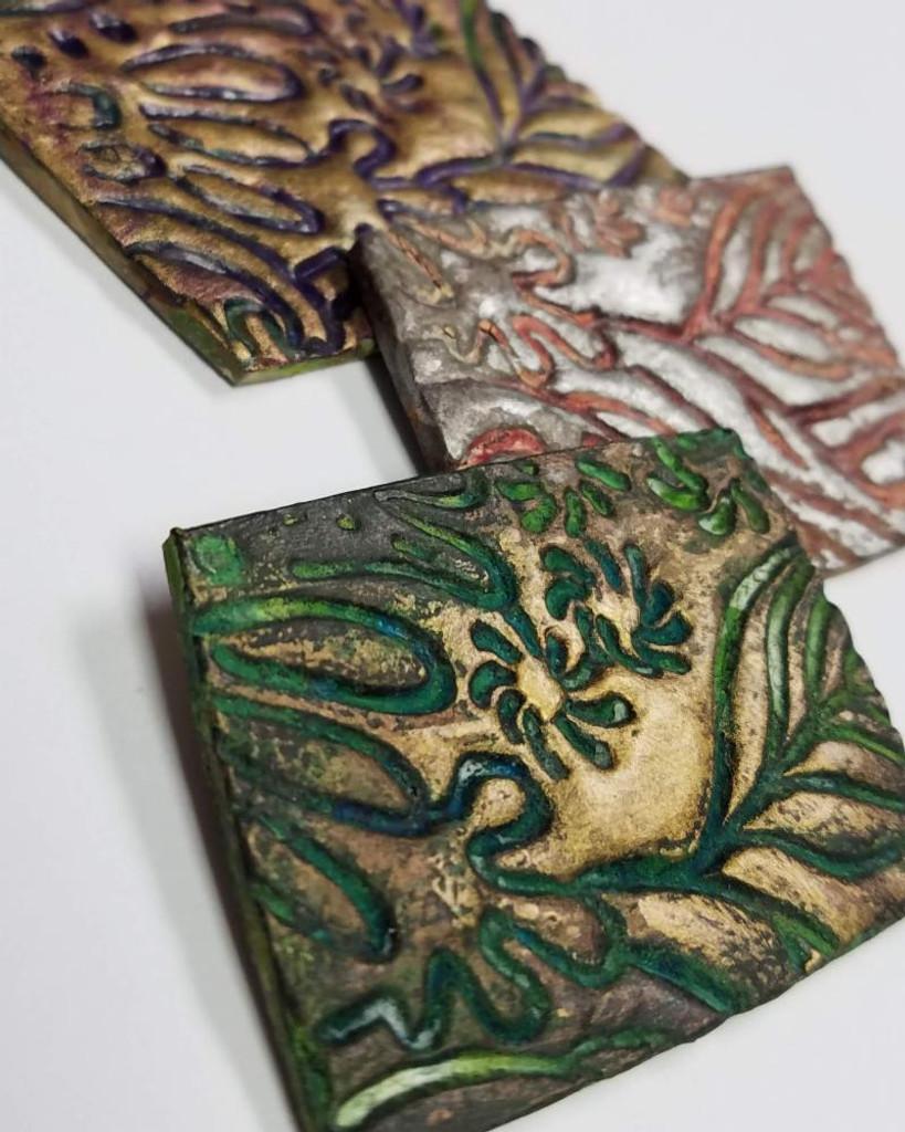Christi Friesen Texture Stamp Coral Reef