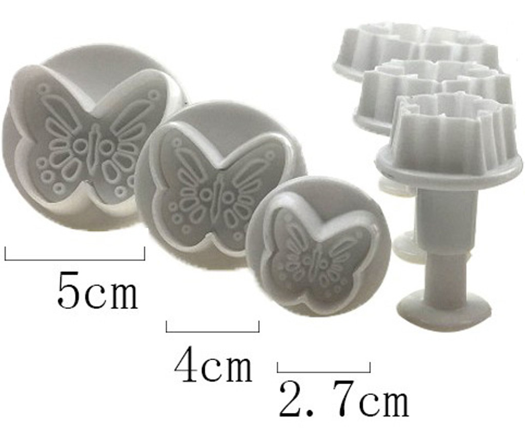 Butterfly Embossing Cutters 3 pc. Set B