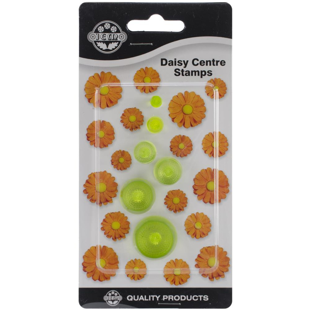 Daisy Center Stamps
