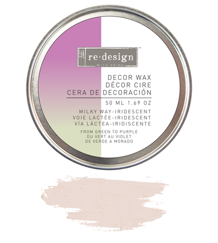 Prima Redesign Wax Paste 50ml - Milky Way Iridescent (Violet)