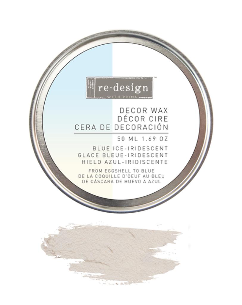 Prima Redesign Wax Paste 50ml - Blue Ice Iridescent