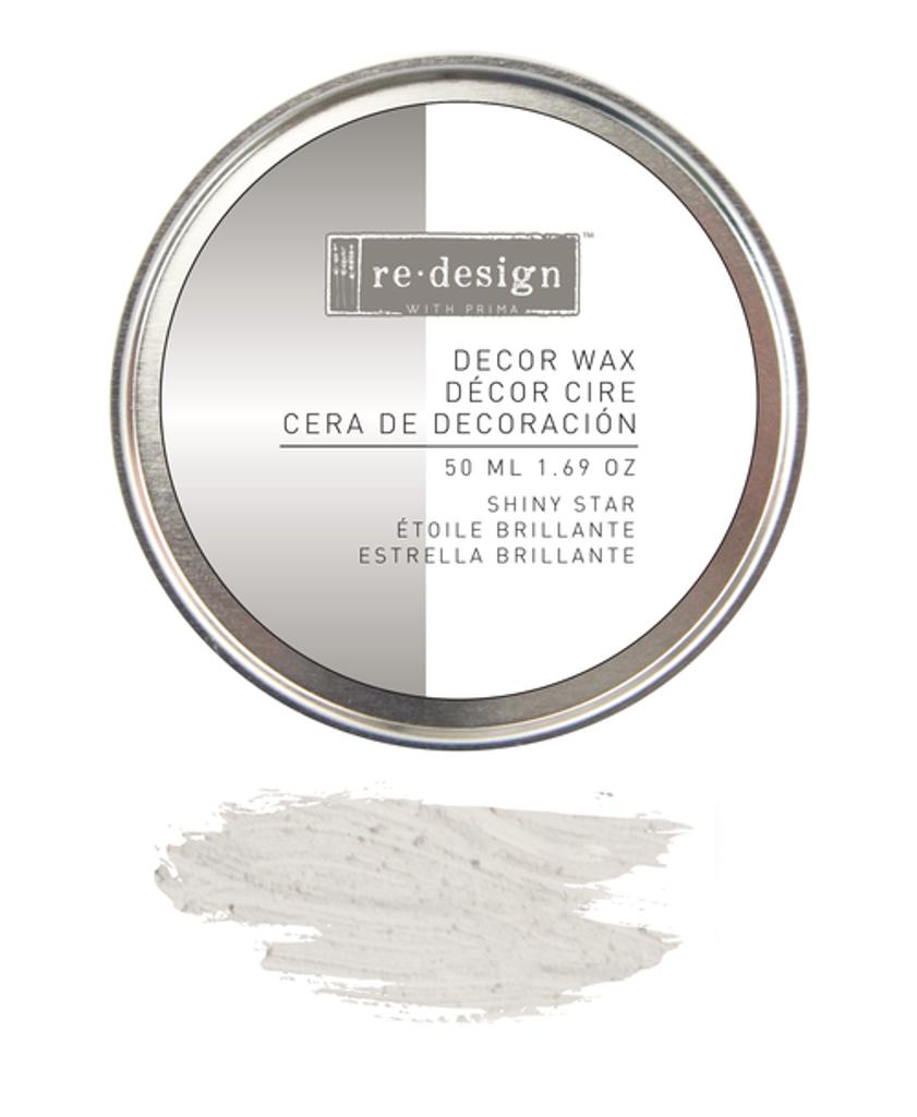 Prima Redesign Wax Paste 50ml - Shiny Star (Silver)